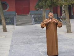 Wed, 09/03/2011 - 05:09 - Shifu Kanishka training shaolin qi gong in shaolin temple Shaolin Kung Fu India