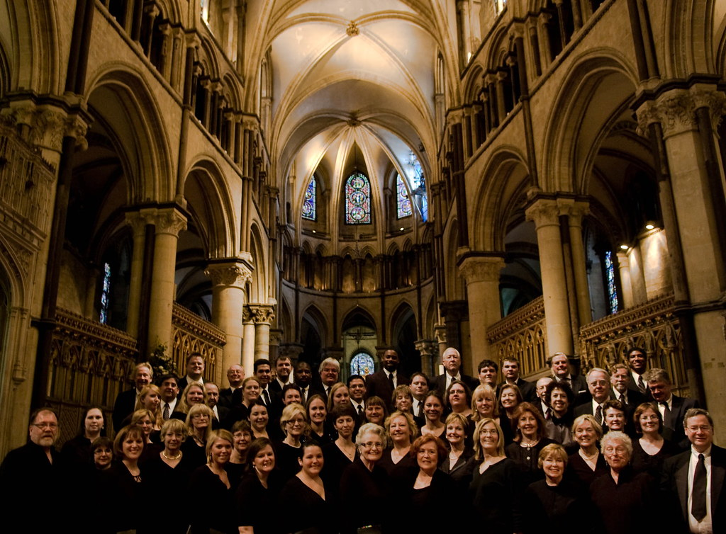 St. Martin's Episcopal Church Choir in Canterbury Cathedral in England