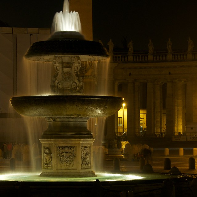Vatican Fountain