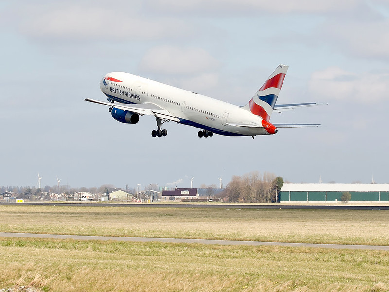British Airways - Polderbaan Schiphol