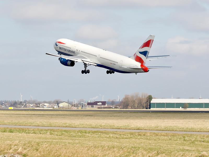 British Airways - Polderbaan Schiphol