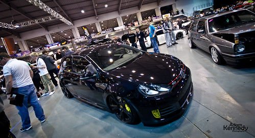 MK6 Golf On Gallardo Rims