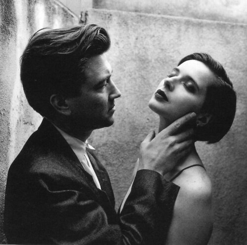 David-Lynch-Isabella-Rossellini-by-Helmut-Newton