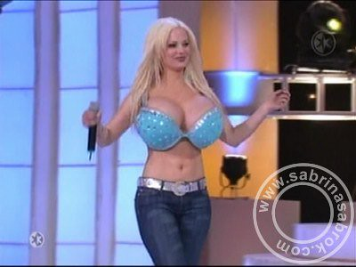 Sabrina sabrok sexy punk singer with the biggest breast - 5 5