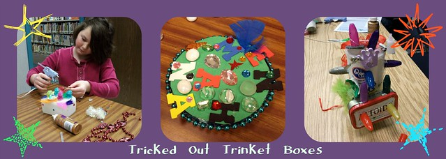 trinket boxes collage