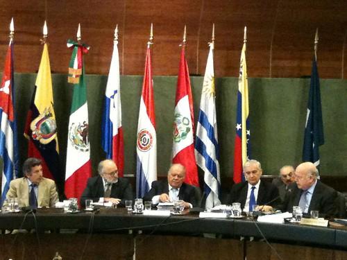 Secretario General de la OEA participó en Foro de Altas Autoridades Económicas de la región