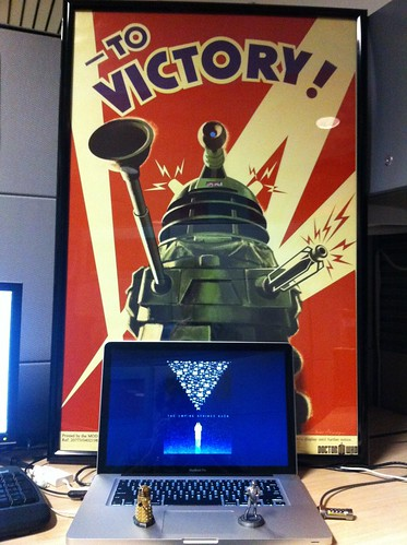 To Victory! Dalek poster.