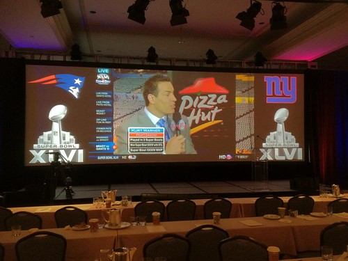 Superbowl screen