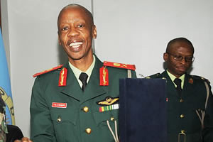 Lt. Gen. Tebogo Carter Masire, the Commander of the Botswana Defense Forces, has commended the Zimbabwe policy of indigenization. Masire was in the country on a state visit. by Pan-African News Wire File Photos