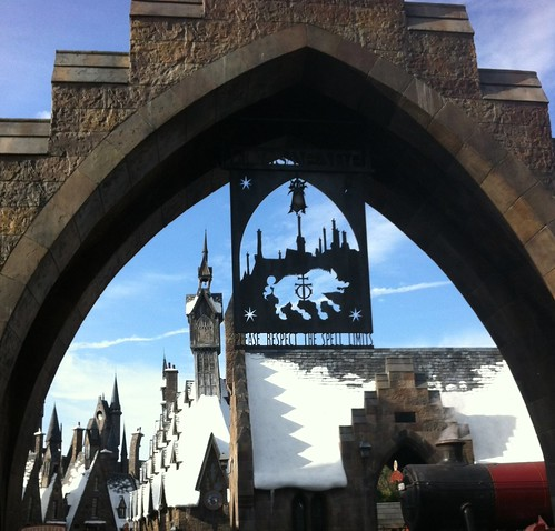 Entrance to Harry Potter