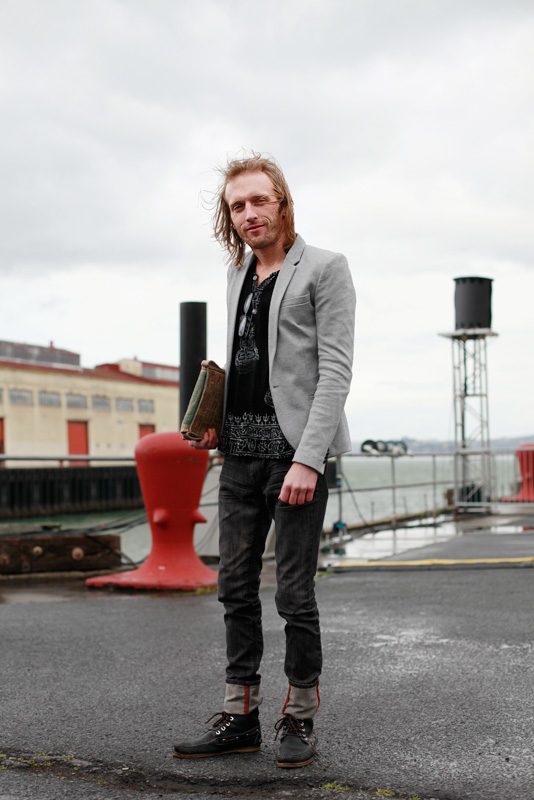 Johnny Ray san francisco street fashion style
