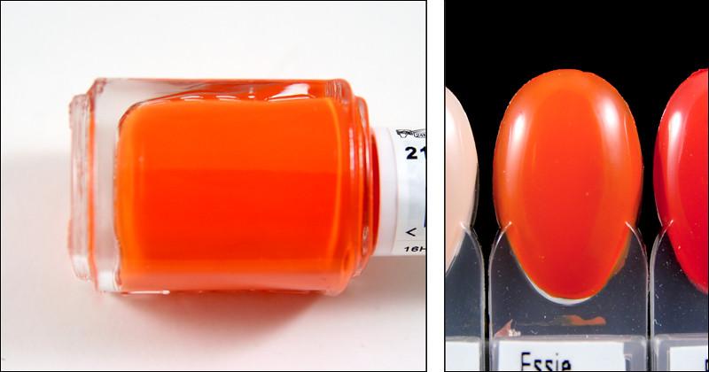 orange, it's obvious swatch
