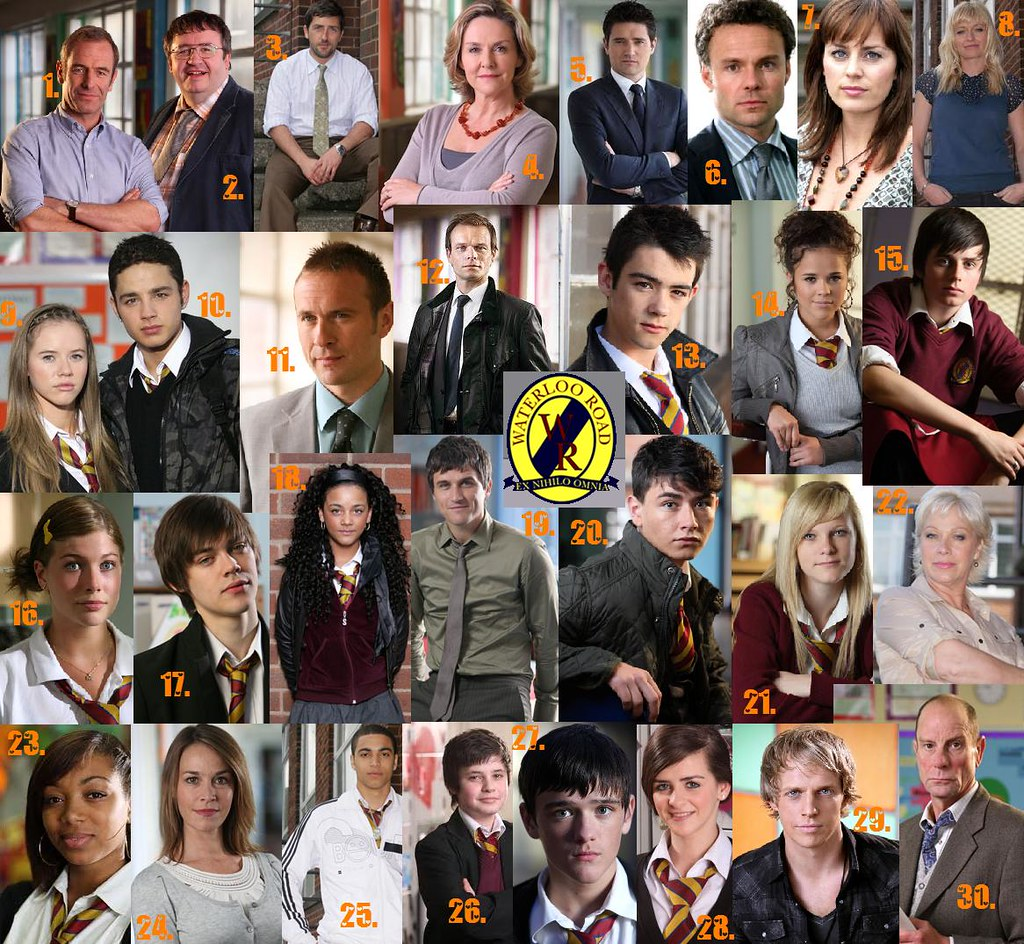 Waterloo Road Characters
