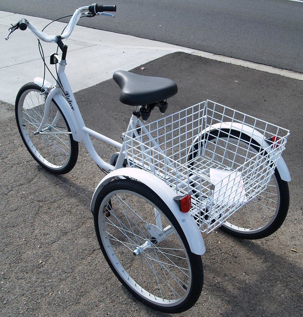 3 wheel adult bike