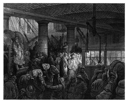 007-El Dock de St. Katherine-London A Pilgrimage 1890- Blanchard Jerrold y Gustave Doré- © Tufts Digital Library