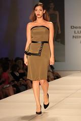 bridal clothing(0.0), model(1.0), runway(1.0), fashion(1.0), fashion design(1.0), fashion show(1.0), fashion model(1.0), dress(1.0),