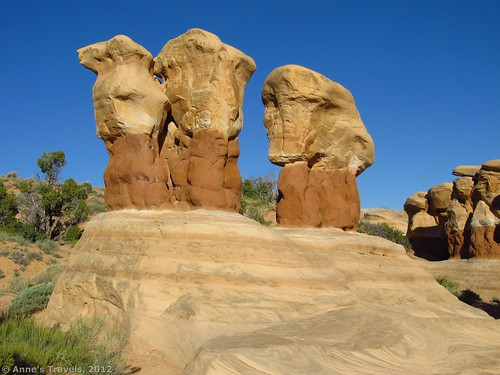 Rock formations in Devil's Garden, Grand Staircase-Escalante National Monument, Utah