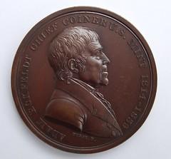 Eckfeldt medal obverse