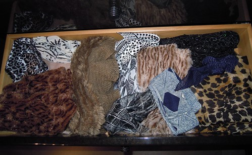 Organize Scarves by Colors