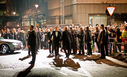 Brad Pitt at the Baftas