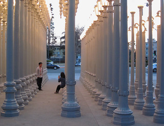 Another View of the Lamps at LACMA