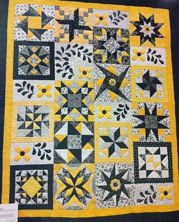 Star Techniques~ Quilt by Cindy Sloneker