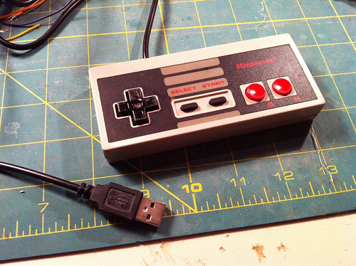 USB NES Controller