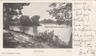 Odell postcard