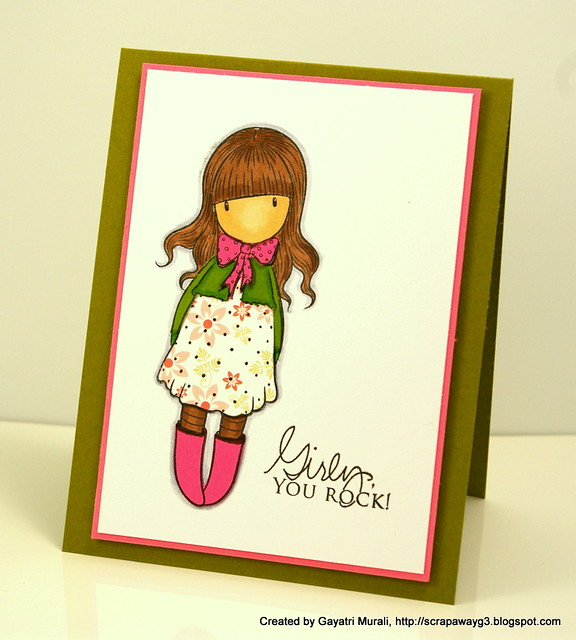 Girly card