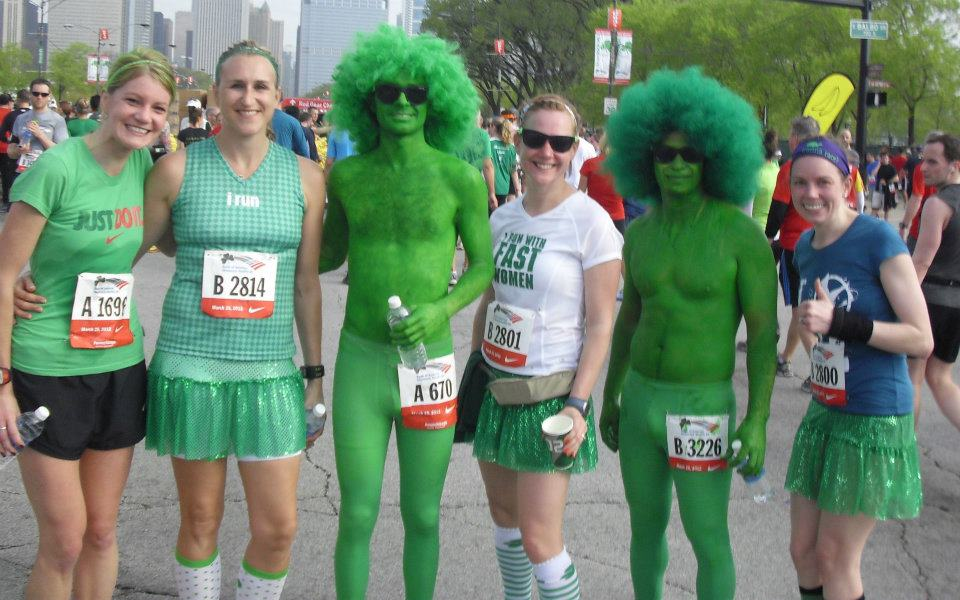 Green Men of the Shamrock Shuffle