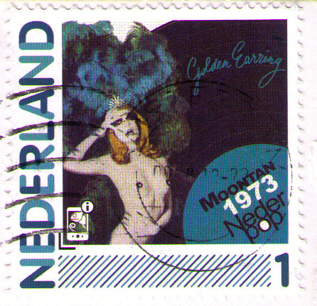 Golden Earring / Moontan stamp from the Netherlands