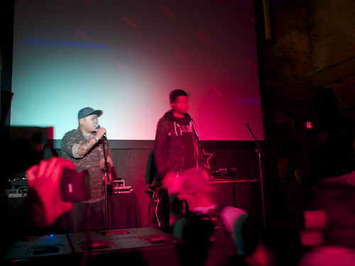 Timer and Omega cix @ NextDoor 2/11/12