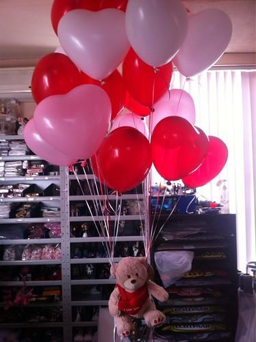 Heliumballonnen Hartballonnen Valentijn