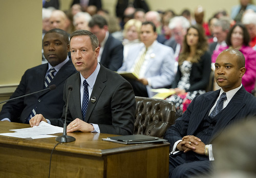 Governor O'Malley testifies in support of equal rights for all Marylanders.