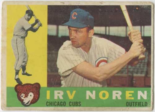 1960 Topps Irv Noren