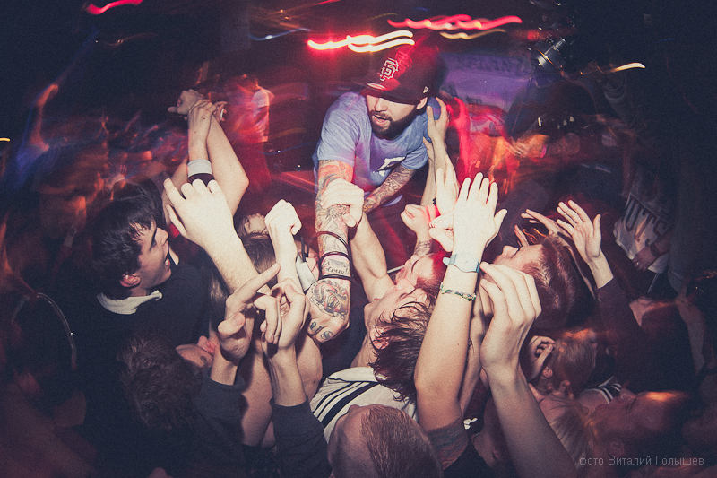 Deez Nuts 30/03/2012 Moscow
