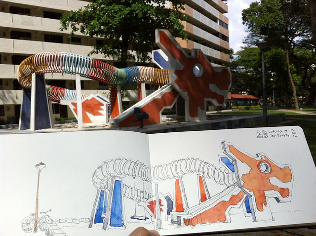 Dragon Playground at Blk28 Toa Payoh