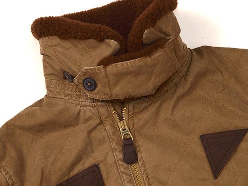 Rugby / Quilted Bomber Jacket