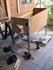 Pinball Cabinet construction