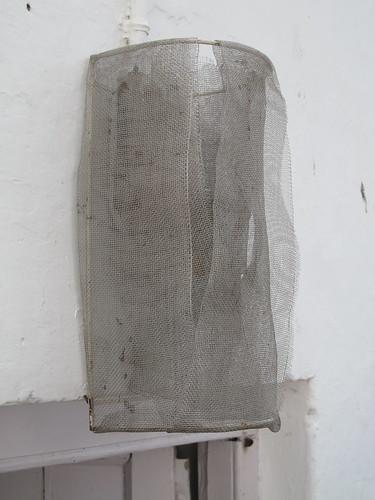 Mysore, handmade mesh lampshade
