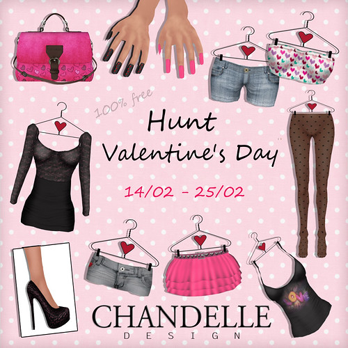 Hunt Valentine's Day in Chandelle