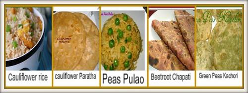 Rice-paratha