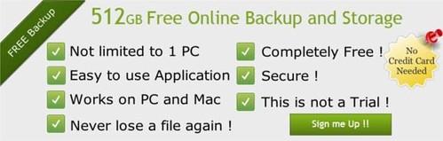 BeeCloud 512GB Free Cloud Storage