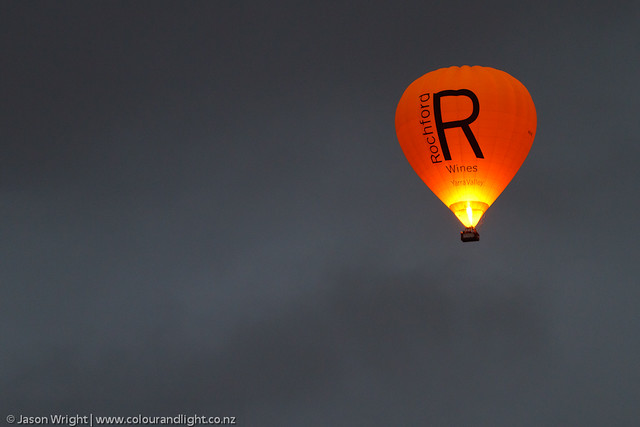 Rochford Wines Balloon - Ominous Clouds