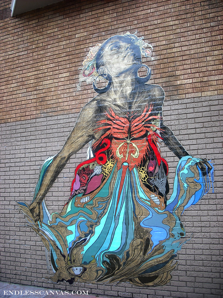 SWOON, San Francisco, Street Art, Art, Graffiti