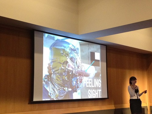 Talking about creepy awesome science at Interaction12