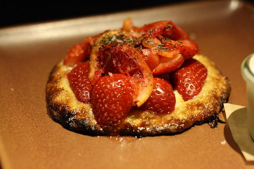 Strawberry and Blood Orange Crostata