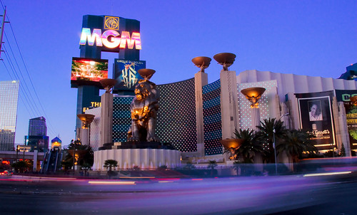 MGM Grand at Dusk, Las Vegas