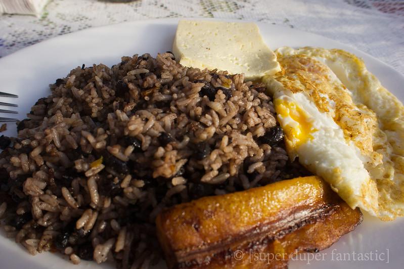 Meals in Costa Rica - Soda Mima - La Fortuna/Arenal