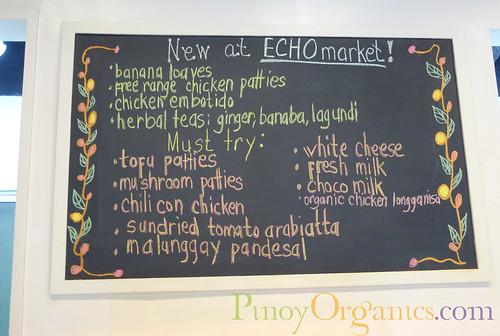 echomarket menu board